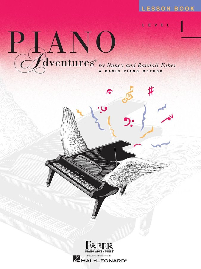 View larger image of Piano Adventures Level 1 – Lesson Book – 2nd Edition