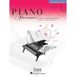 Piano Adventures Level 1 – Lesson Book – 2nd Edition
