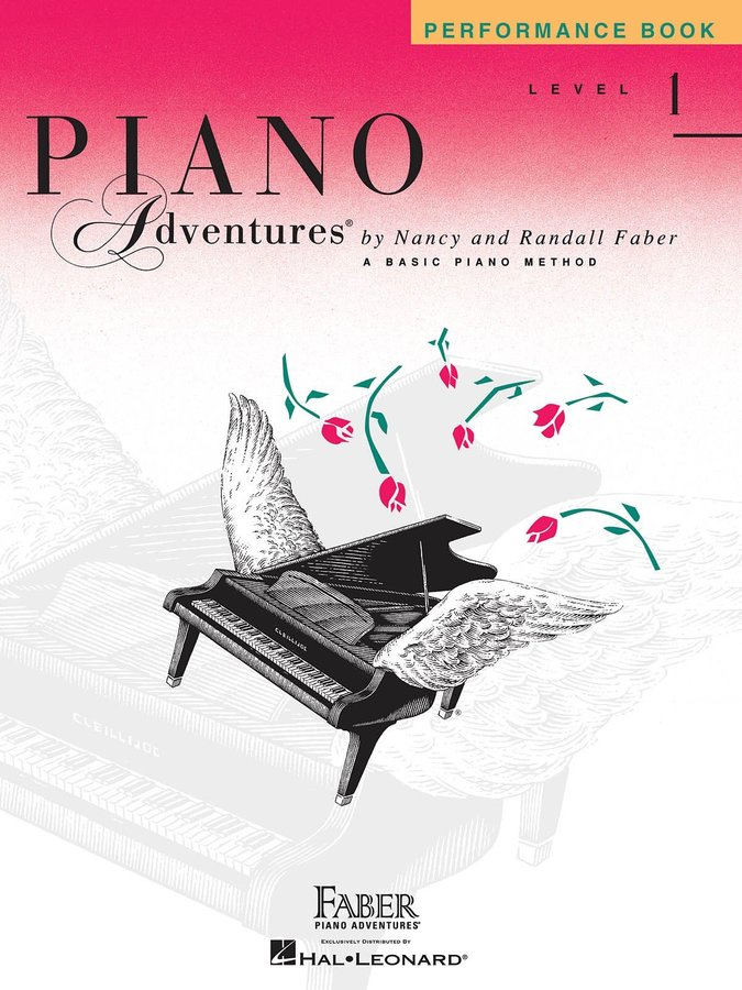 View larger image of Piano Adventures Level 1 – Performance Book – 2nd Edition