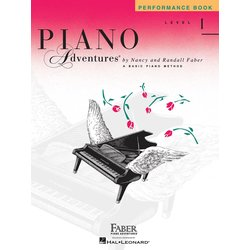 Piano Adventures Level 1 – Performance Book – 2nd Edition