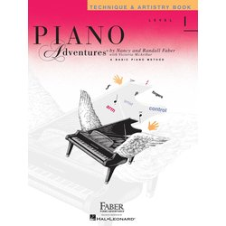 Piano Adventures Level 1 – Technique & Artistry Book – 2nd Edition
