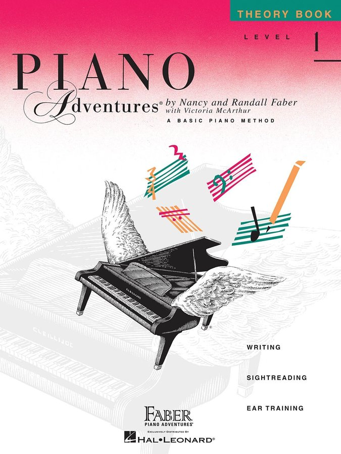View larger image of Piano Adventures Level 1 – Theory Book – 2nd Edition