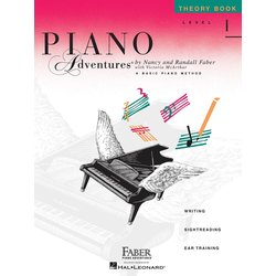Piano Adventures Level 1 – Theory Book – 2nd Edition