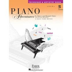 Piano Adventures Level 2B – Technique & Artistry Book – 2nd Edition