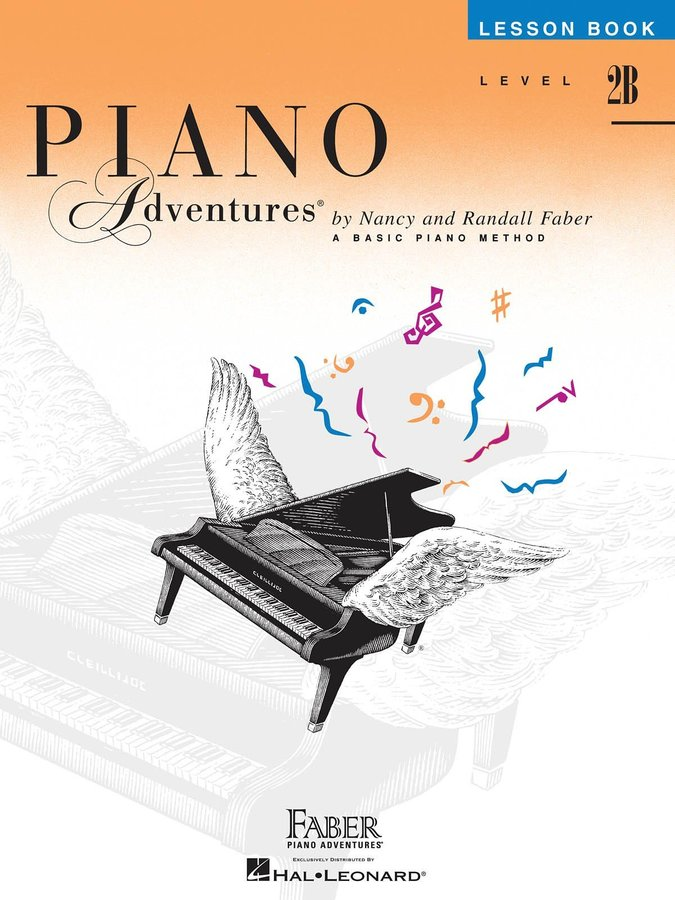 View larger image of Piano Adventures Level 2B – Lesson Book – 2nd Edition