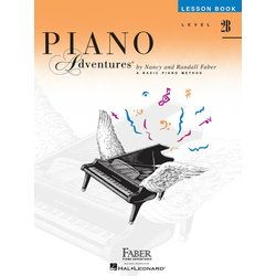 Piano Adventures Level 2B – Lesson Book – 2nd Edition