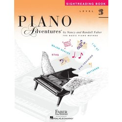 Piano Adventures Level 2B – Sightreading Book
