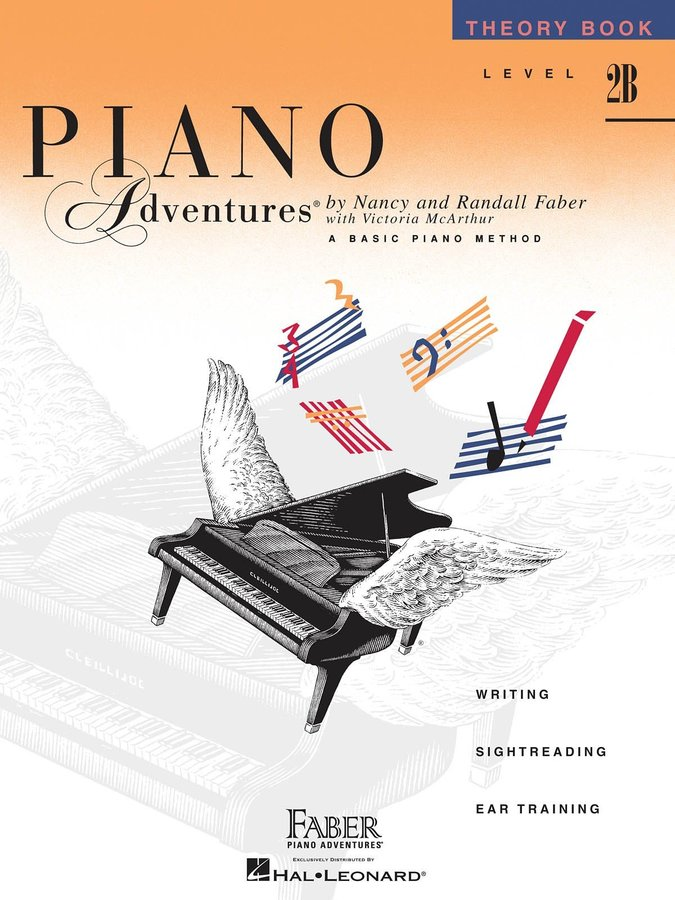 View larger image of Piano Adventures Level 2B – Theory Book – 2nd Edition
