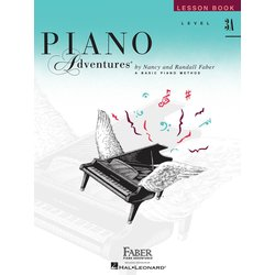 Piano Adventures Level 3A – Lesson Book – 2nd Edition