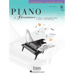 Piano Adventures Level 3A – Technique & Artistry Book – 2nd Edition