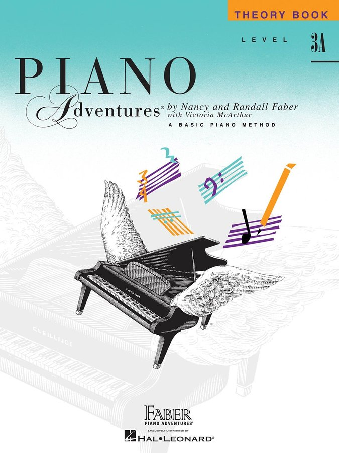 View larger image of Piano Adventures Level 3A – Theory Book – 2nd Edition