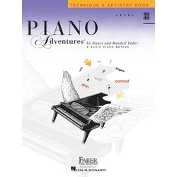Piano Adventures Level 3B – Technique & Artistry Book – 2nd Edition