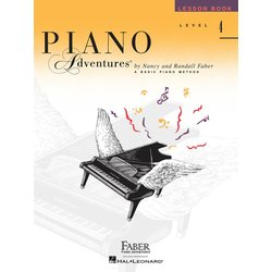 Piano Adventures Level 4 – Lesson Book – 2nd Edition