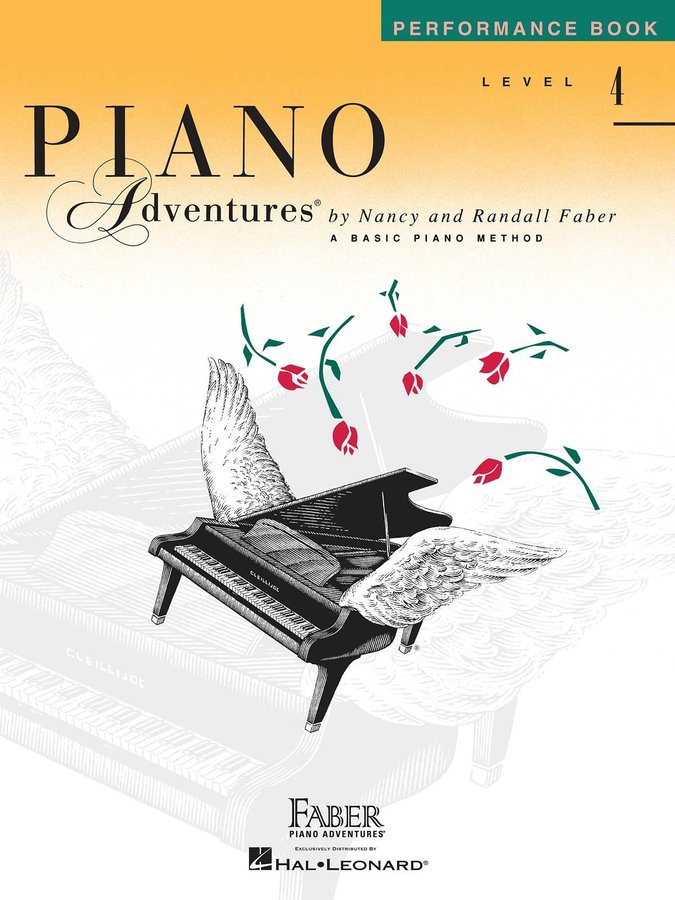 View larger image of Piano Adventures Level 4 – Performance Book – 2nd Edition