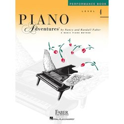 Piano Adventures Level 4 – Performance Book – 2nd Edition