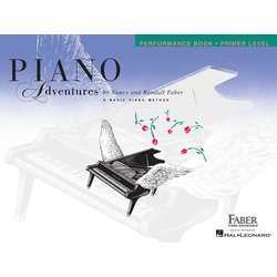 Piano Adventures Primer Level – Performance Book – 2nd Edition