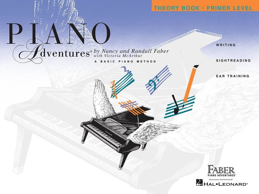 View larger image of Piano Adventures Primer Level – Theory Book – 2nd Edition