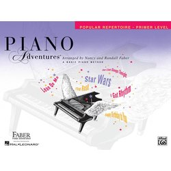 Piano Adventures Primer Level - Popular Repertoire