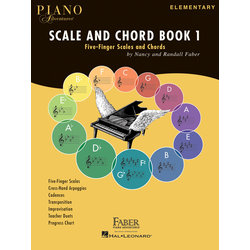 Piano Adventures Scale and Chord Book 1 - Five-Finger Scales and Chords