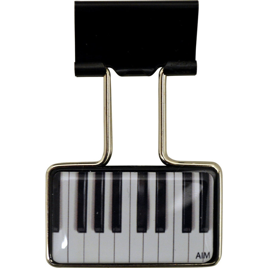 View larger image of Piano Binder Clip - Black
