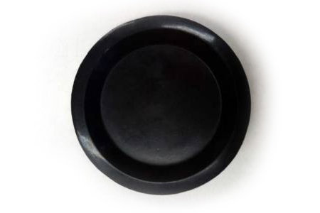 View larger image of Piano Caster Cup - Black Rubber