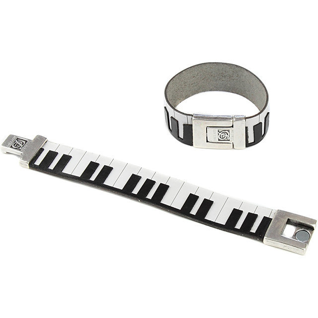 View larger image of Piano Leather Bracelet