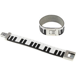 Piano Leather Bracelet