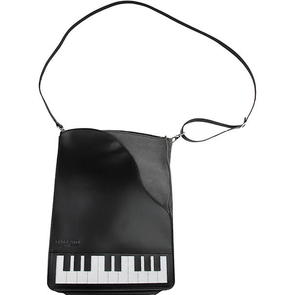 View larger image of Piano Leather/Suede Cross Body Bag
