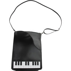 Piano Leather/Suede Cross Body Bag