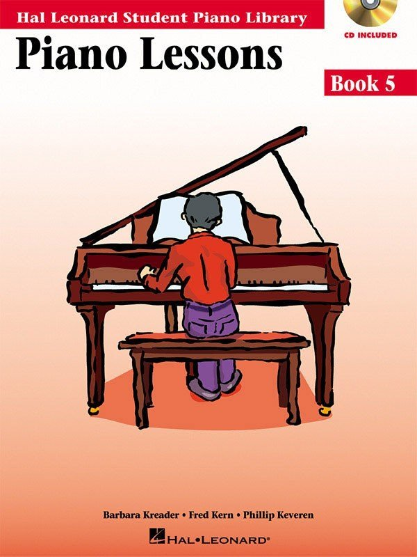 View larger image of Piano Lessons Book 5 – Book/Enhanced CD Pack