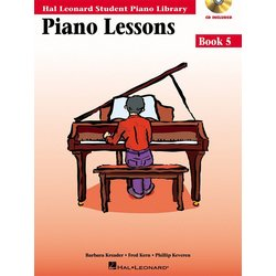 Piano Lessons Book 5 – Book/Enhanced CD Pack