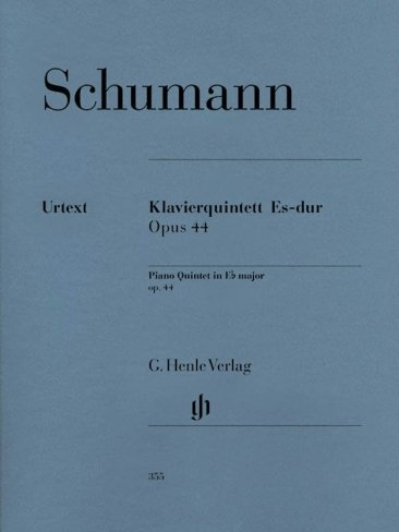 View larger image of Piano Quintet in E Flat Op.44 (Schumann)