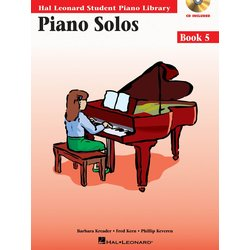 Piano Solos Book 5 – Book/Enhanced CD Pack