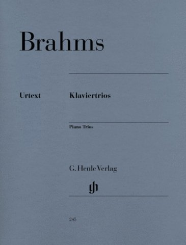 View larger image of Piano Trios (Brahms) - National Federation of Music Clubs 2014-2016 Selection