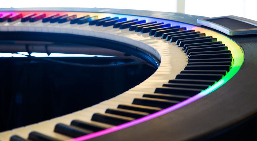 View larger image of PianoArc Brock360 Circular Keyboard