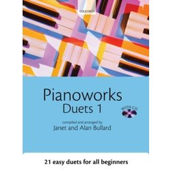 Pianoworks Duets 1 w/CD (1P4H)