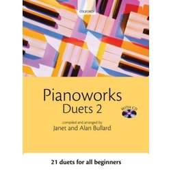 Pianoworks Duets 2 w/CD (1P4H)