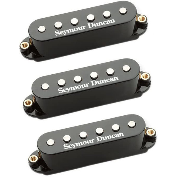 View larger image of Syemour Duncan STK-S4W Classic Stack Plus Stratocaster Set