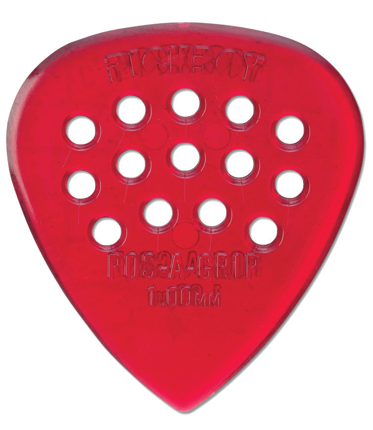 View larger image of Pickboy PB36P100 Polycarbonate Pos A Grip Guitar Picks - 1.00mm, 10 Pack
