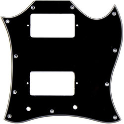 Pickguard for Gibson SG - Black, Large