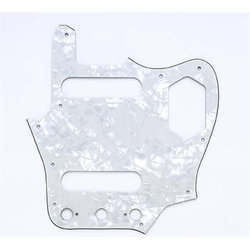 Pickguard for Jaguar - White Pearloid