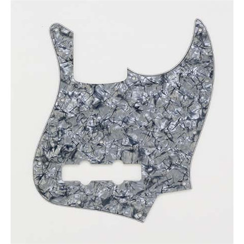 View larger image of Pickguard for Jazz Bass - Black Pearloid