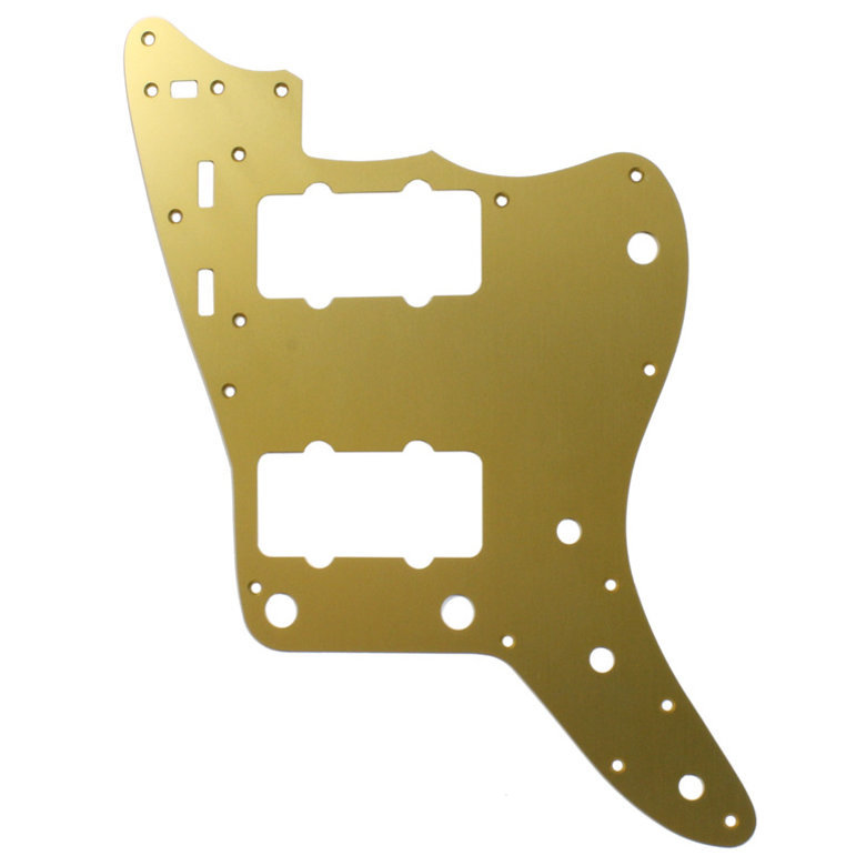 View larger image of Pickguard for Jazzmaster - Gold Anodized