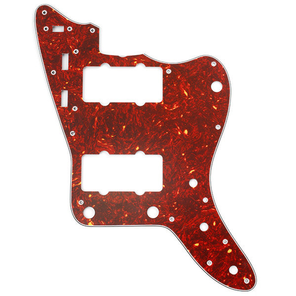 View larger image of Pickguard for Jazzmaster - Red Tortoise