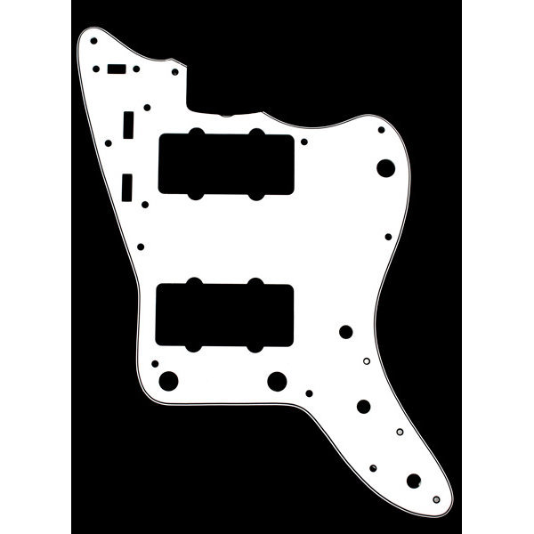 View larger image of Pickguard for Jazzmaster - White
