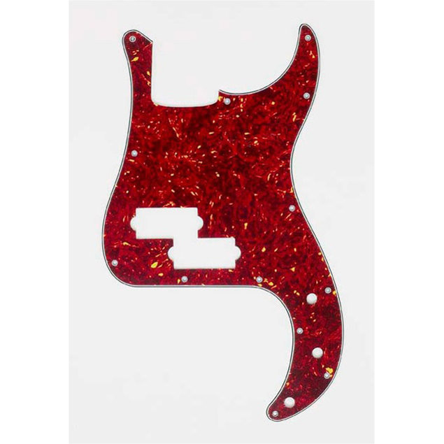 View larger image of Pickguard for Precision Bass - Red Tortoise