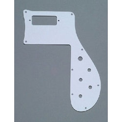 Pickguard for Rickenbacker 4001 - White