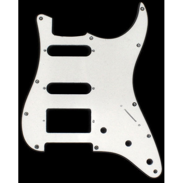 View larger image of  Pickguard for Stratocaster - White