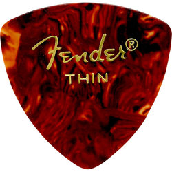 Fender Classic Celluloid Picks - Thin, 346 Shape, Shell, 12 Pack