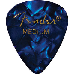 Fender Premium Picks - Medium, 351 Shape, Blue Moto, 12 Pack